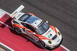 Both CORE entries to start fifth in class after wet COTA qualifying