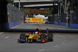 An excellent 4th place for Richelmi on Race 1 in Singapore