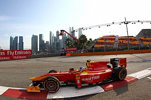 Leimer finishes 5th on Feature Race in Singapore
