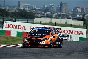 Honda power to pole position for Suzuka race