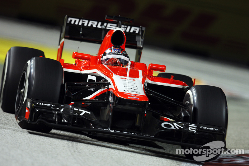 Bianchi staying at Marussia in 2014