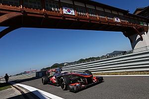 A productive day's testing for McLaren at Korean International Circuit
