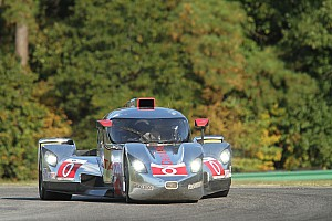 DeltaWing coupe ready for the Oak Tree GP at VIR