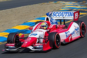 Justin Wilson charges to third Saturday in Houston