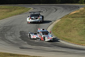 DeltaWing coupe runs strong early at VIR