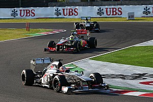 Both Sauber drivers earn points today at Suzuka