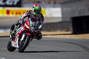 Giugliano leads Jerez Friday qualifying over Melandri and Laverty