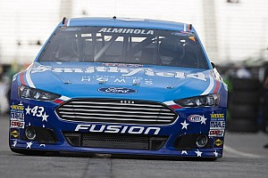 Rain cancels Cup qualifying at Talladega; pole goes to Almirola