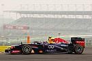 Red Bull Racing drivers Friday at Buddh