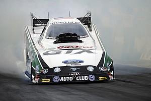 John Force, Matt Smith earn race victories and championships in Las Vegas