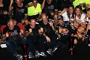 Vettel and Infiniti Red Bull Racing secure double title wins with crushing victiory in India