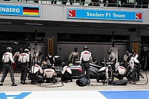 Sauber F1 Team gets set for Abu Dhabi heat
