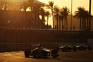 Sauber finished out of the points on the Abu Dhabi GP