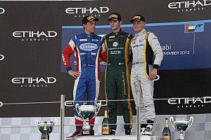 Podium for Palmer in final 2013 series weekend at Abu Dhabi