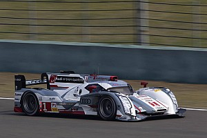 Audi on front row at Shanghai