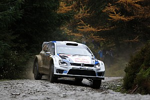 Here we go: World Rally Champion Ogier tops qualifying in Wales