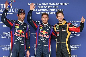 Vettel pinches United States Grand Prix pole from Webber