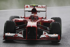 Ferrari is top ten on qualifying for the Brazilian GP