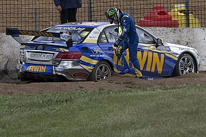 Scary moment for IRWIN Racing at Phillip Island