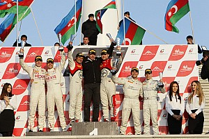 Laurens Vanthoor and Stéphane Ortelli are FIA GT Champions