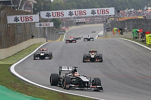 Sauber has a consolidating end to the season in São Paulo