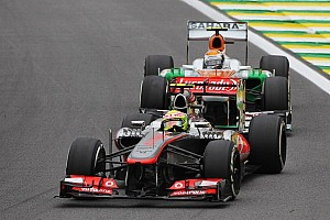 Hulkenberg and Perez for Force India in 2014