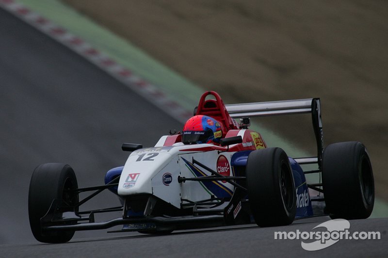 Very good weekend for Pietro Fittipaldi on the Winter Series Formula 4 2013
