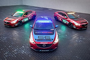 Mazda6 SKYACTIV-D Clean Diesel cars to tackle Thunderhill 25-hour