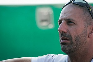 Kanaan learning the Ganassi ropes during Sebring test