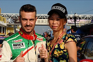 Tiago Monteiro joins Honda Thanks Day