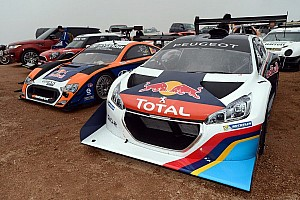 Entries for the 92nd running of the Pikes Peak International Hill Climb coming in at high speed