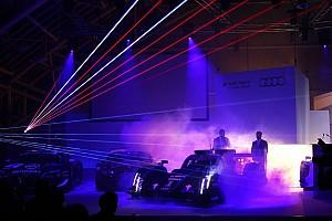 Audi R18 e-tron quattro with laser light