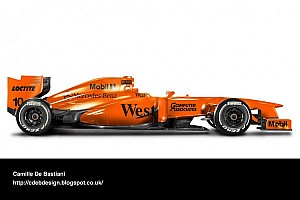McLaren could launch orange 2014 car - report