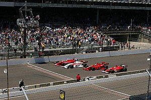 Top 20 moments of 2013, #8: Four wide finish at Indianapolis
