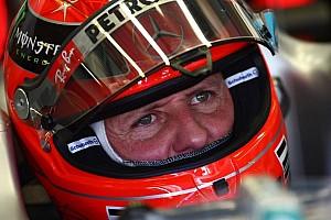 Schumacher still in critical but stable condition - was wearing helmet camera