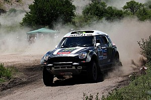 Peterhansel claims day 2 victory in the MINI ALL4 Racing and takes the overall lead