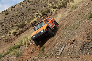 Stage 7 was a tough one for Robby Gordon