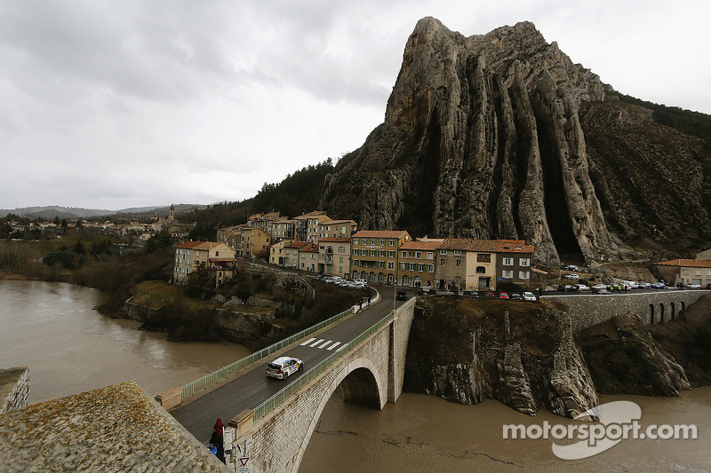 Ogier and Ingrassia move into the lead at the Rally Monte Carlo