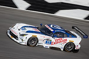 No. 33 Viper GT3-R stays on pace in Friday's final practice for The Rolex 24