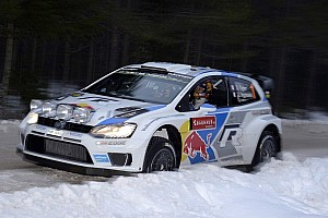 Volkswagen holds first three positions after leg one of Rally Sweden
