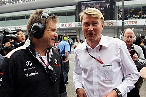 Hakkinen tips Raikkonen to beat Alonso