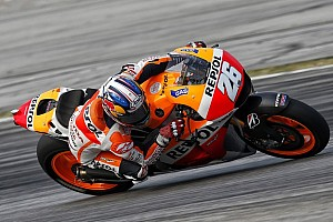 Pedrosa moves to top of the timings on second test day in Malaysia