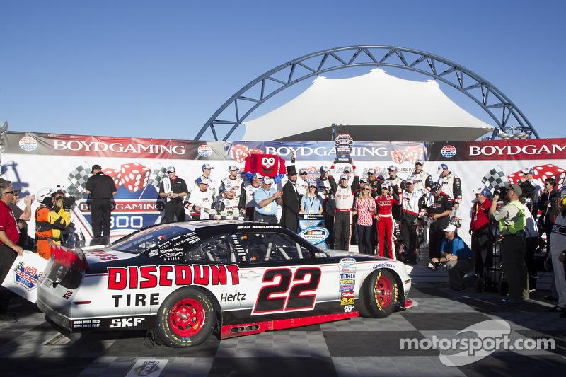 Keselowski gives Mustang first Nationwide win of 2014