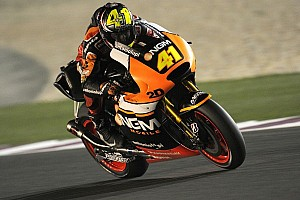 Espargaro continues to lead on second day of practice in Qatar