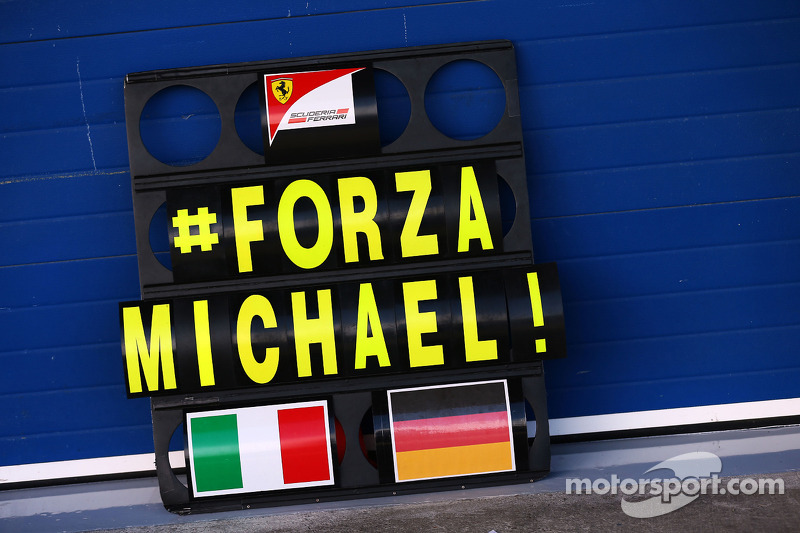 Ex F1 doctor thinks 'really bad news' about Schu coming