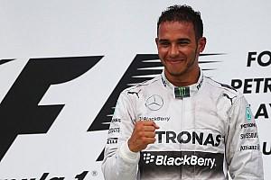 Hamilton leads Mercedes 1-2 in Malaysia