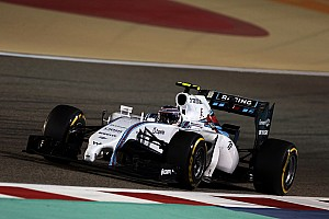 Bahrain test day one - Williams Martini Racing