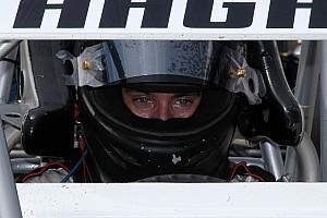 Hagar handles slick track at I-30 Speedway for third triumph of season