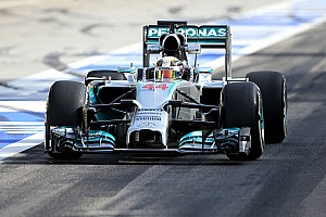 Mercedes AMG testing report - day two