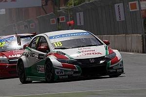 Honda Civics earn front row grid position after tough WTCC opener